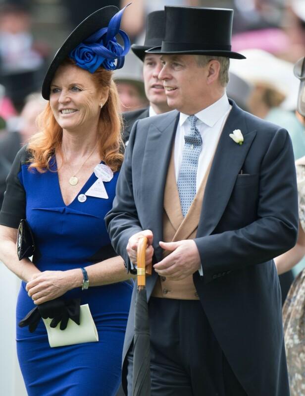 <strong>BEHOLDT VENNSKAPET:</strong> Sarah Ferguson og prins Andrew har bevart vennskapet etter skilsmissen. Foto: NTB Scanpix
