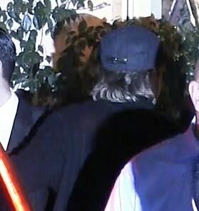 GJEMTE SEG: Brad Pitt dukket opp som en av gjestene under bursdagsfeiringen til ekskona Jennifer Aniston. Foto: NTB scanpix
