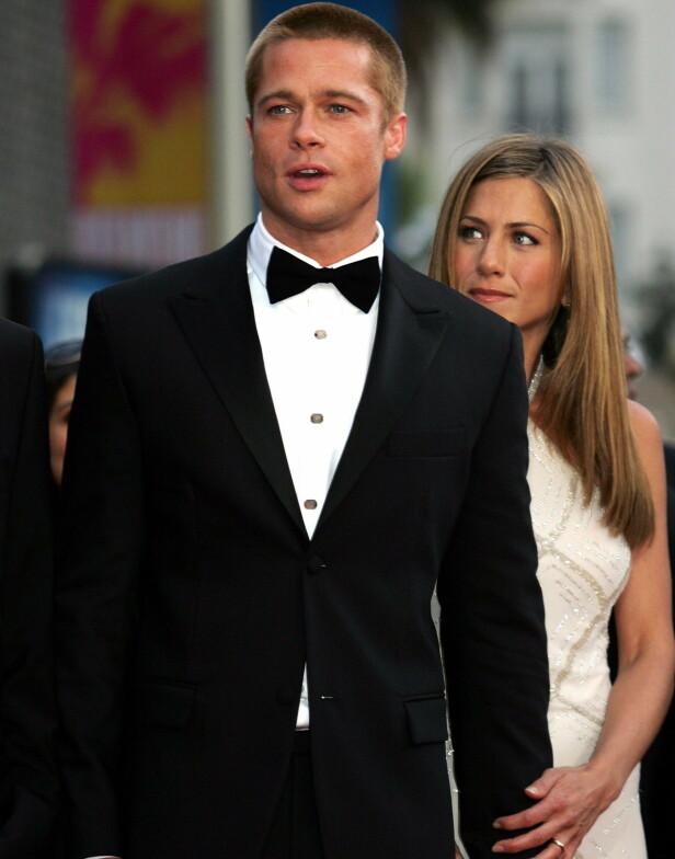 MENER HUN ER DEN RETTE: Hollwood-stjernens foreldre har angivelig et ønske om at Jennifer og Brad skal gifte seg på nytt. Foto: NTB scanpix