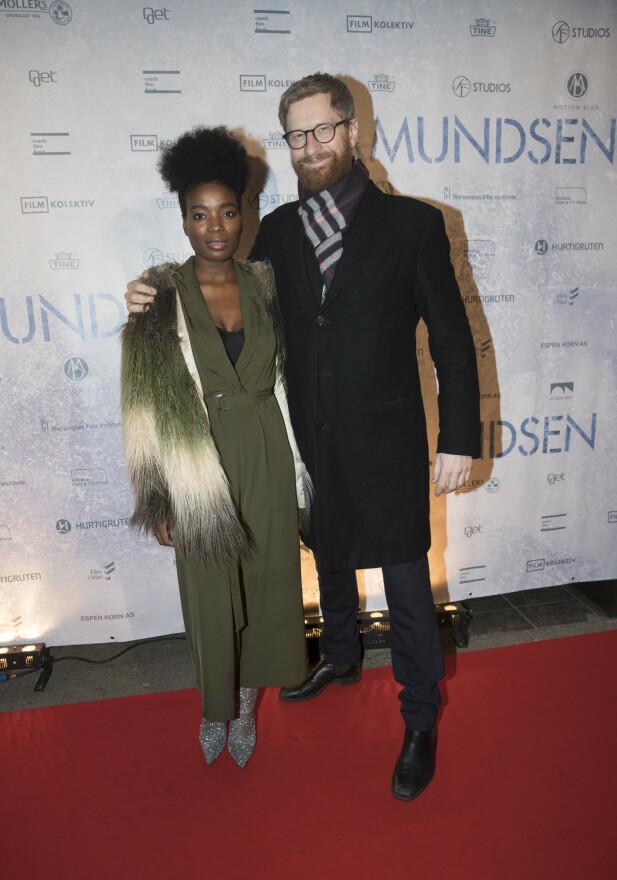 BARNEFRI: Odd-Magnus og kona Tinashe hadde barnefri onsdag kveld. Det har de også på valentinsdagen. Foto: Terje Bendiksby / NTB Scanpix