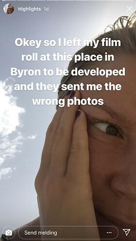 <strong>FEIL BILDER:</strong> Det var ikke bildene til den svenske 21-åringen som ble tilsendt fra fotobutikken. Foto: NTB scanpix