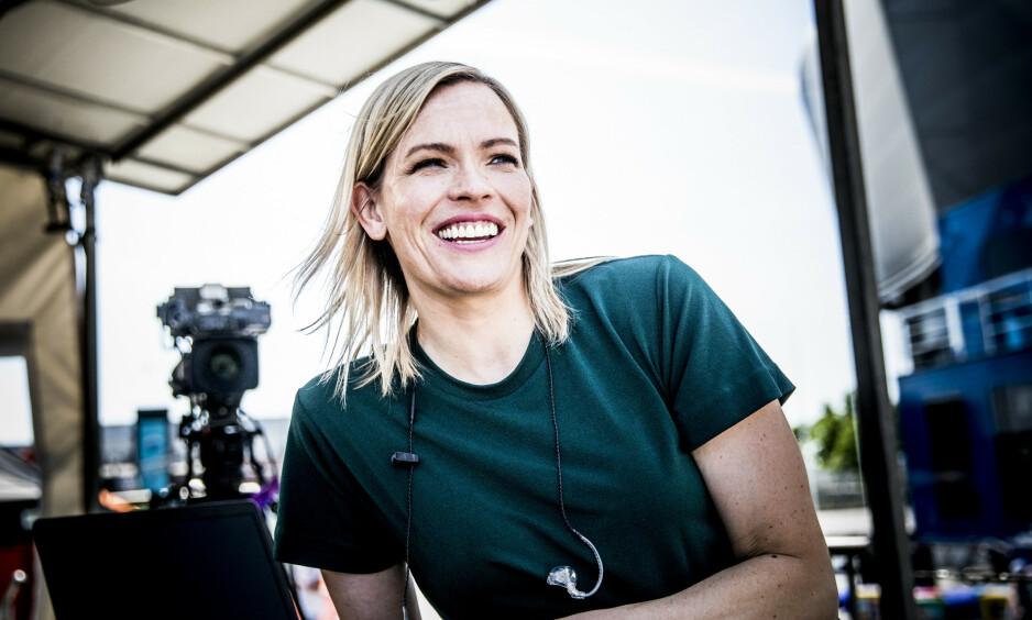 <strong>BLIR MAMMA:</strong> Carina Olset avslører kjønnet på sitt første barn. Foto: Christian Roth Christensen / Dagbladet