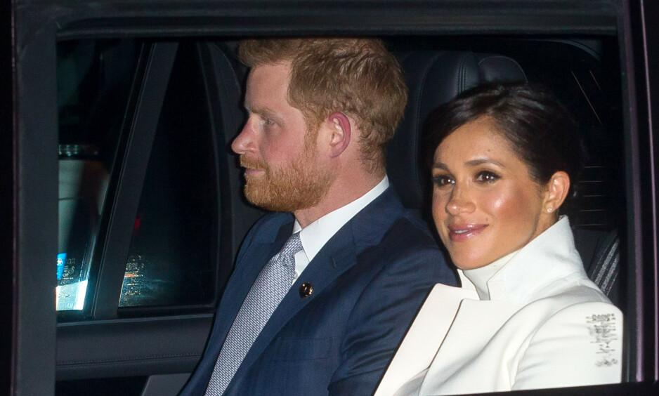 HEMMELIG SNARTUR: Hertuginne Meghan (37) har tatt et avbrekk fra kongelige plikter for å tilbringe tid med venner i New York. Foto: NTB Scanpix