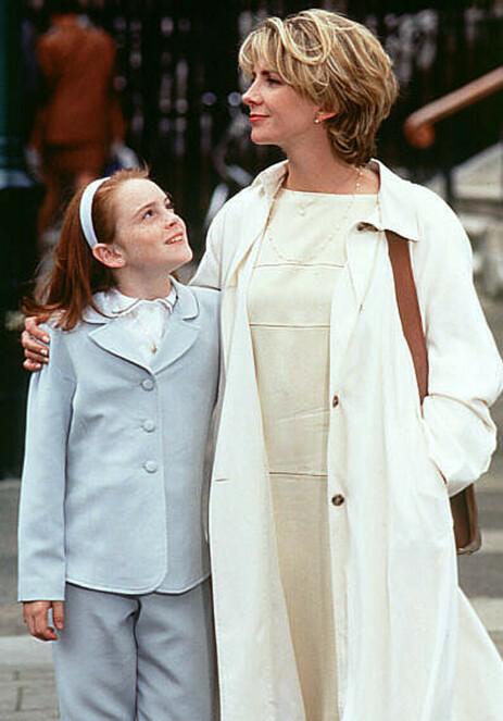 BERØMT FILM: Lindsay Lohan i en scene fra «Foreldrefellen» sammen med Natasha Richardson. Foto: The Walt Disney Co./Reuters/ NTB scanpix