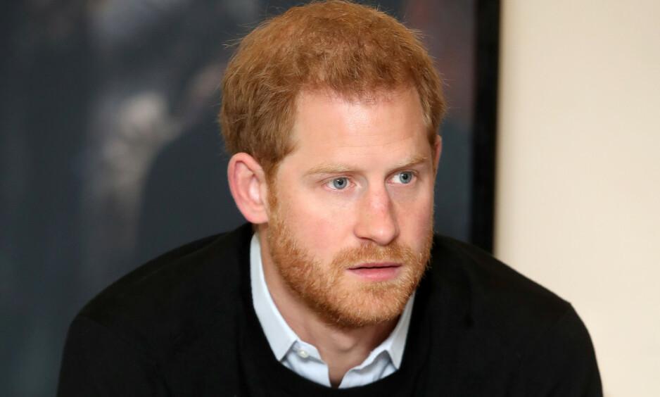 FØLTE SEG ENSOM: Før prins Harry møtte sin utkårede, hertuginne Meghan, skal han visstnok ha vært redd for at han aldri skulle få en lykkelig slutt. Foto: NTB scanpix