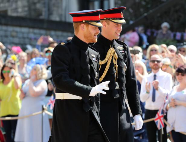 SØSKENKJÆRLIGHET: Prins Harry og prins William kom enda nærmere hverandre etter dødsfallet til moren, prinsesse Diana. Foto: NTB scanpix