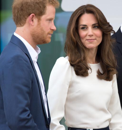 NÆRT FORHOLD: Hertuginne Kate skal ha hjulpet prins Harry til å fylle noen av tomrommene i livet hans. Foto: NTB scanpix