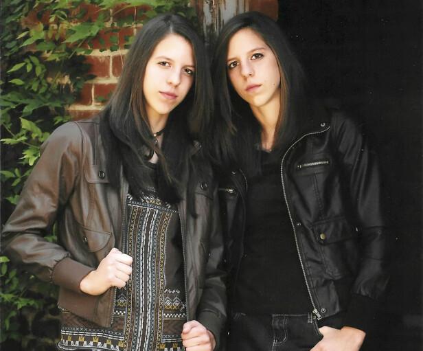 VILLE IKKE VÆRE FEMININE: Selv før tvillingene hadde avslørt at de følte seg som gutter, kledde de seg så maskulint som mulig. Foto: NTB Scanpix