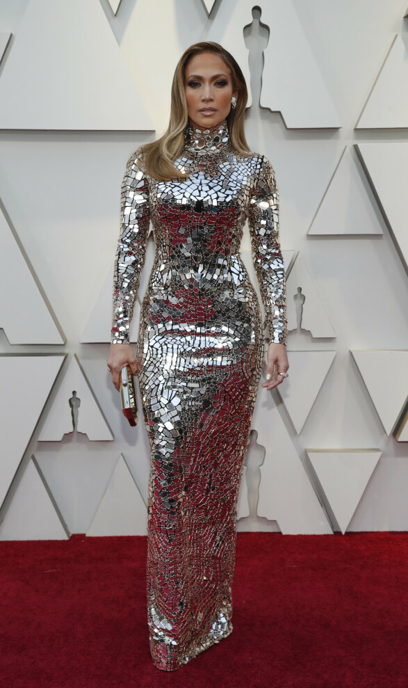 WOW: Jennifer Lopez har god tradisjon for å kuppe røde løpere, og nattens Oscar-utdeling ble ikke noe unntak. Foto: NTB scanpix
