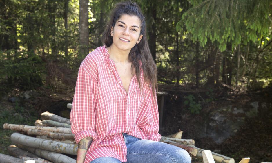 URETTFERDIG: Bloggeren Kristin Gjelsvik (32) ble skjelt ut av kunstner Aune Sand på «Torpet kjendis», og mener hun ble urettferdig behandlet. Foto: Andreas Fadum / Se og Hør