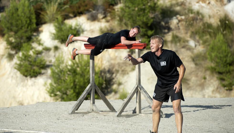 <strong>HAVNET BAKPÅ:</strong> Pål Anders Ullevålseter viste seg særdeles stødig i finaleløypa, og vant dermed den tiende sesongen av realityprogrammet. Foto: John T. Pedersen / Dagbladet