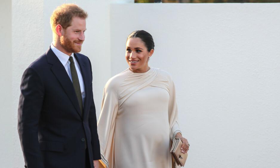 OPPDRAGELSE: Hertuginne Meghan og prins Harry ønsker ikke å påtvinge barnet sitt noen kjønnsstereotypier, og vil heller gå for en mer flytende tilnærming. Foto: NTB Scanpix