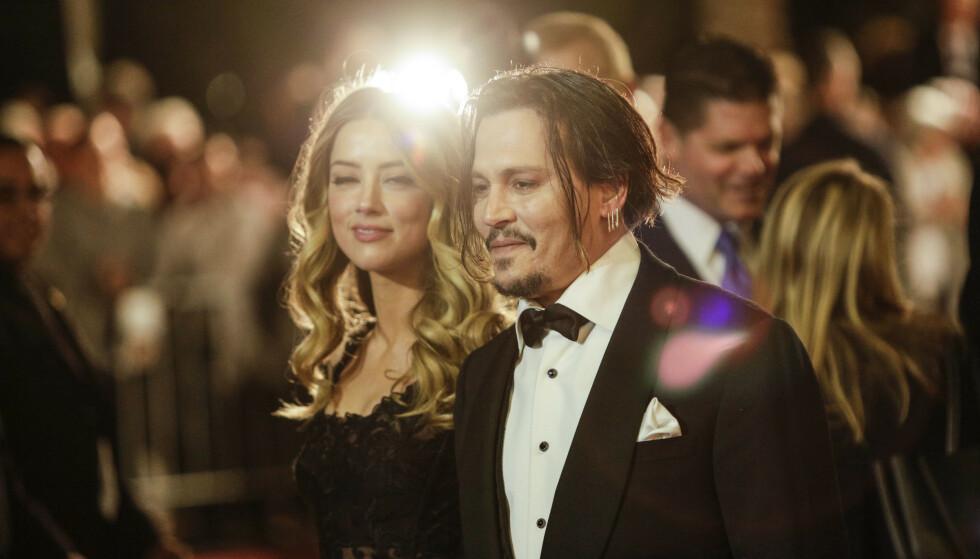 SLÅR TILBAKE: Johnny Depp går til sak mot ekskona for ærekrenkelse, og krever en enorm sum i erstatning. Foto: NTB Scanpix