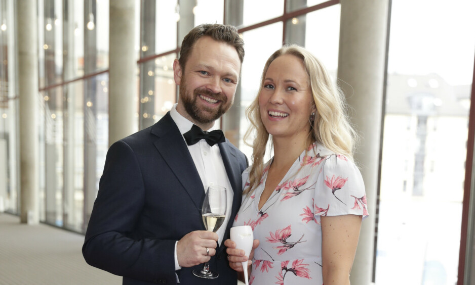 BLE FORELDRE: John Brungot og kona Marte Hovig har blitt foreldre for tredje gang. Foto: NTB Scanpix