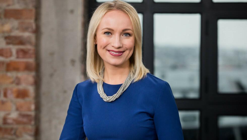 <strong>FÅTT BARN:</strong> TV 2-programleder Linn Wiik er blitt mamma for første gang til en liten jente. Foto: TV 2