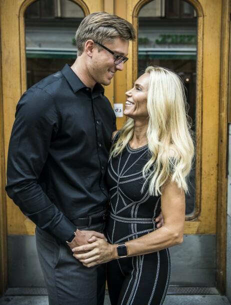 LYKKELIG: Torsdag avslørte Anna Anka forlovelse. Når de skal gifte seg vil de holde for seg selv foreløpig. Foto: YRMO CAROLINA / Aftonbladet / IBL Bildebyrå / NTB Scanpix