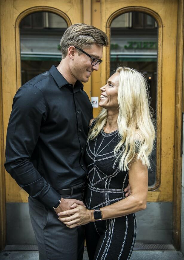 <strong>VISUMPROBLEMER:</strong> David Johansson og Anna Ankas drømmebryllup kan bli utsatt. Foto: YRMO CAROLINA / Aftonbladet / IBL Bildebyrå / NTB Scanpix