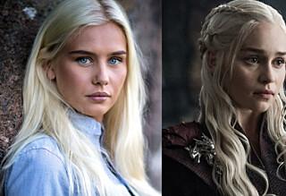 «Game of Thrones»-stjernen om likheten med Snøløs