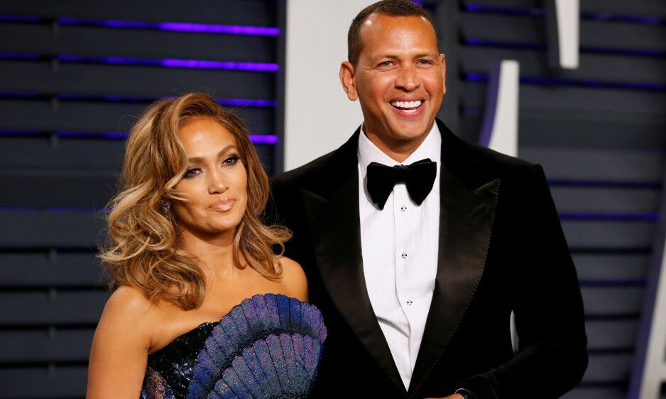 NYFORLOVET: Jennifer Lopez og Alex Rodriguez planlegger bryllup. Foto: NTB Scanpix