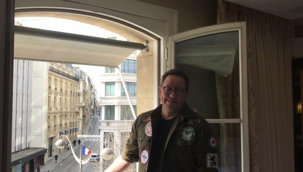IKKE SOM PLANLAGT: Erland Bakkes og konas hotellopphold i Paris (bildet) ble helt annerledes enn planlagt. Foto: Privat