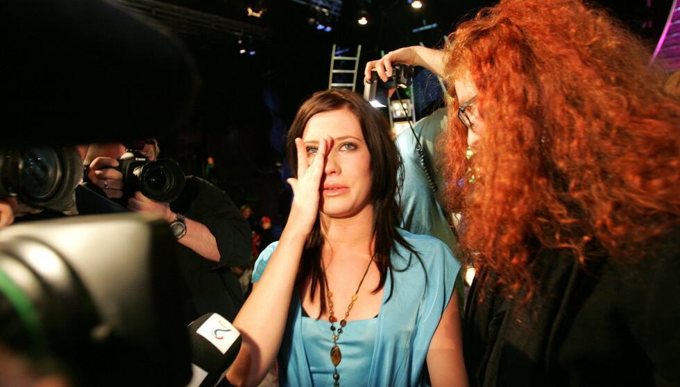 TUNGT: Andrea Gjendem Brændvik deltok i «Idol» i 2005. Årene som fulgte skulle bli svært vanskelige for den unge artisten. Foto: Håkon Mosvold Larsen / NTB Scanpix