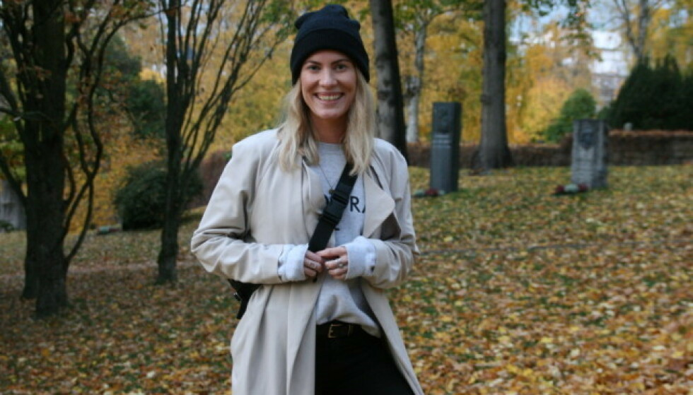 SPENNENDE KARRIERE: Musikken er byttet ut med blogg og podkast for «Idol»-Andrea. Snart tar hun også fatt på livet som foredragsholder. Foto: Julie Solberg