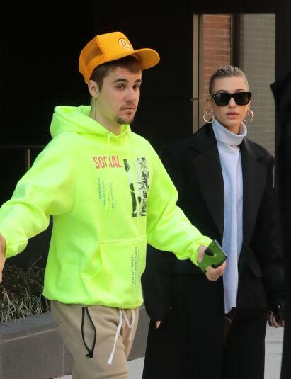VANSKELIG PERIODE: Justin Bieber har erkjent at han sliter med sin mentale helse. Kona skal være en viktig støttespiller i denne krevende tiden. Foto: NTB Scanpix