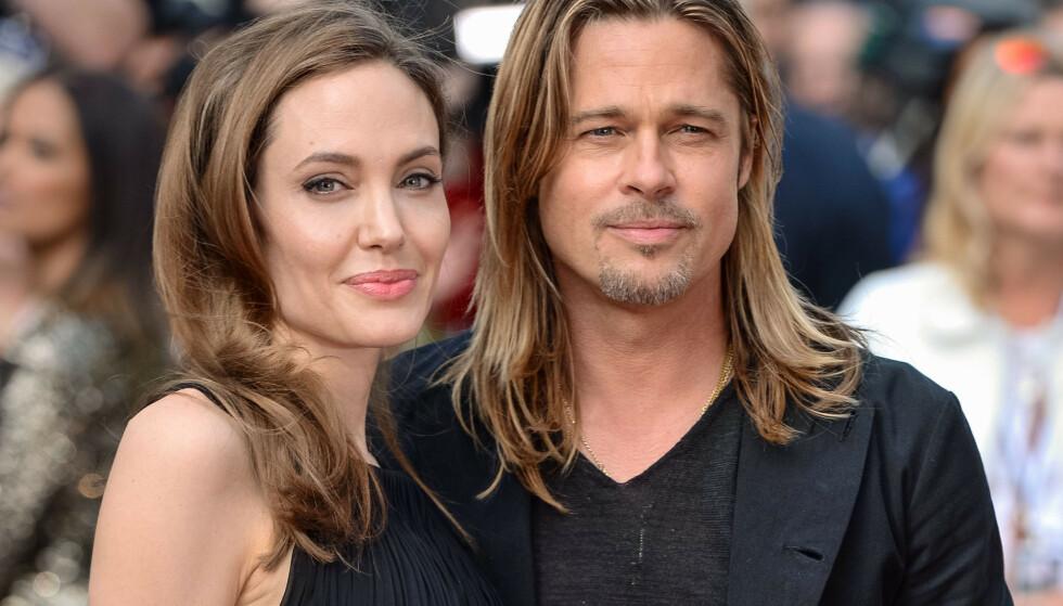 <strong>HETT PAR:</strong> Brad og Angelina var et av Hollywoods hotteste par da de var sammen. Foto: NTB scanpix