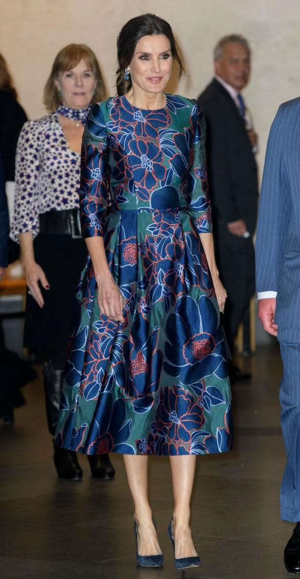 FEIENDE FLOTT: Dronning Letizia av Spania brukte 445 000 kroner på klær i fjor. Foto: NTB Scanpix