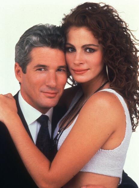 <strong>RADARPAR:</strong> Richard Gere og Julia Roberts gjorde stor suksess i filmen «Pretty Woman». Foto: NTB scanpix