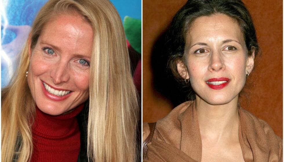 SKULLE GIFTE SEG: Det ble ikke noe «Friends»-bryllup mellom rollefigurene til Jane Sibbett (t.v.) og Jessica Hecht i 1996. Foto: NTB scanpix