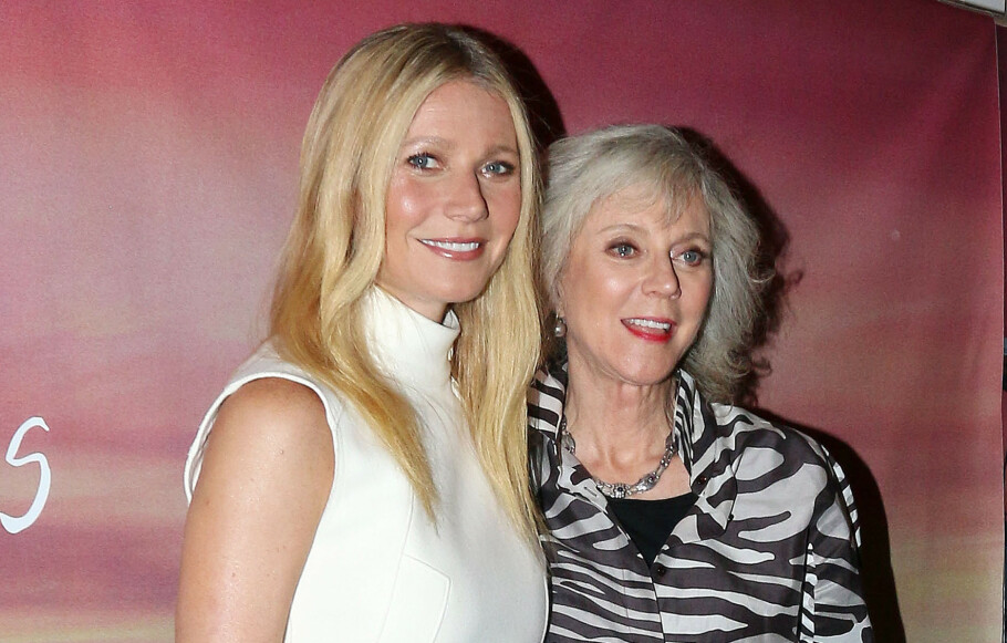 MOR OG DATTER: Gwyneth Paltrow fulgte i moren Blythe Danners fotspor og ble skuespiller. Foto: NTB Scanpix.