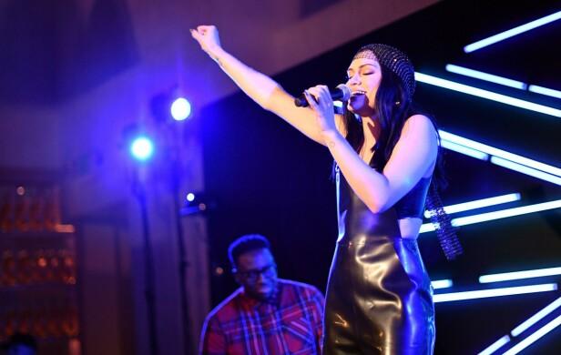 SANGSTJERNE: Det ble svært personlig under Jessie J sin konsert i november. Her er hun avbildet ved en annen anledning i 2017. Foto: NTB scanpix