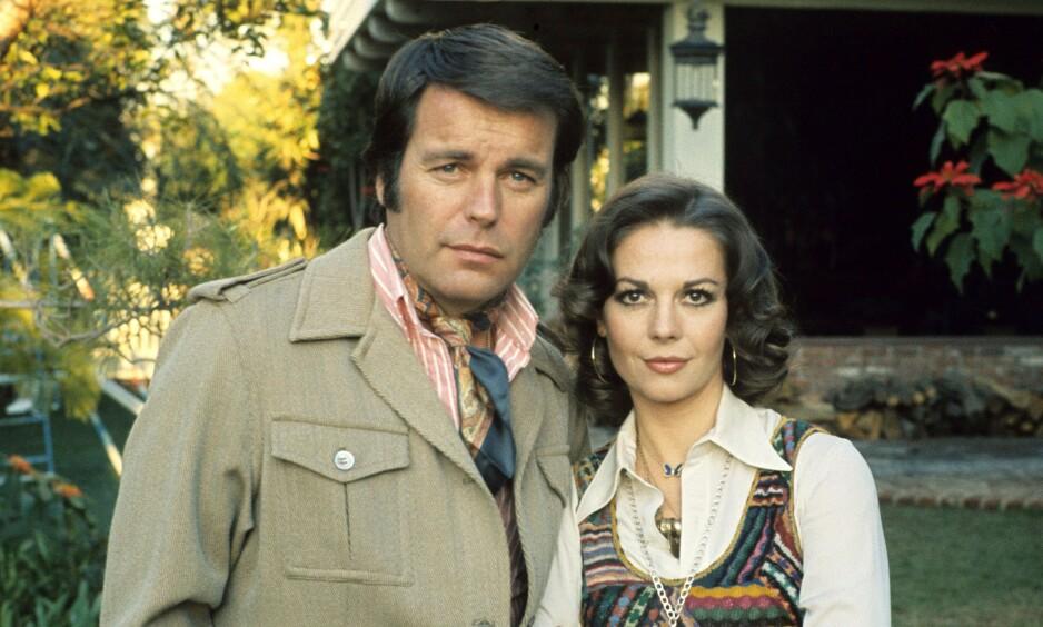 DØDE: Natalie Wood og Robert Wagner var gift i flere omganger. I 1981 døde førstnevnte på mystisk vis. Foto. NTB Scanpix