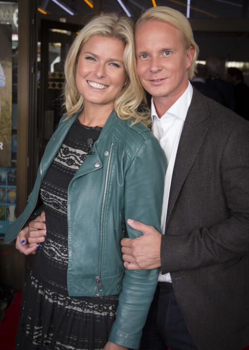 <strong>STØDIG PAR:</strong> Vendela Kirsebom og Petter Pilgaard har snart vært kjærester i to år. Foto: Tore Skaar/ Se og Hør