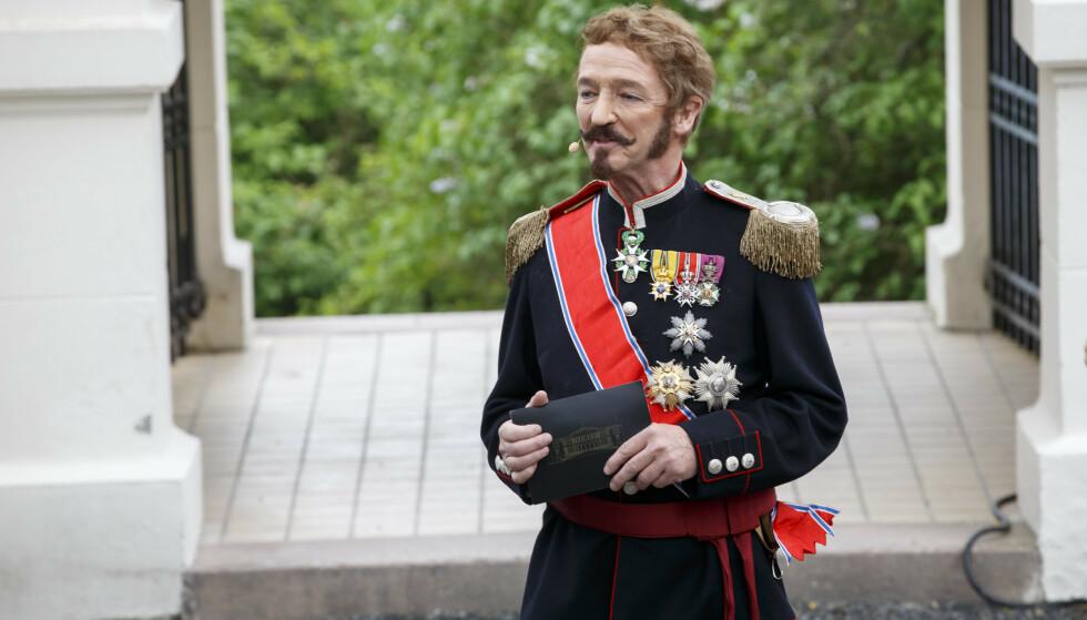 ANERKJENT: I 2015 var Røhrt konfransier på Oscarshall ved overrekkelsen av Stortingets gave, i anledning feiringen av kongeparets 25-årsjubileum. Foto: NTB scanpix