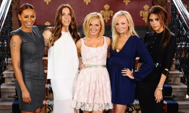 <strong>PÅ TURNÉ:</strong> Neste måned drar Spice Girls endelig ut på turné igjen. Det blir imidlertid uten Victoria Beckham. Foto: NTB Scanpix