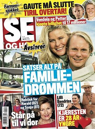 AVSLØRER: Det er i ukens Se og Hør Jan Thomas røper at han er blitt singel. Foto: Faksimile