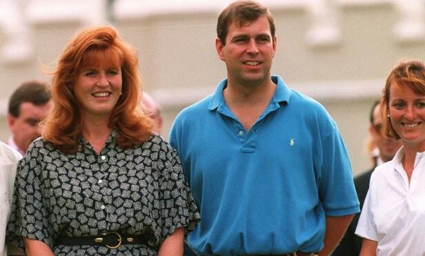 <strong>DEN GANG DA:</strong> Sarah og Andrew sammen i 1994. Foto: NTB Scanpix