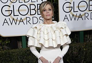 Avslører hemmelig detalj bak Golden Globe-kjolen