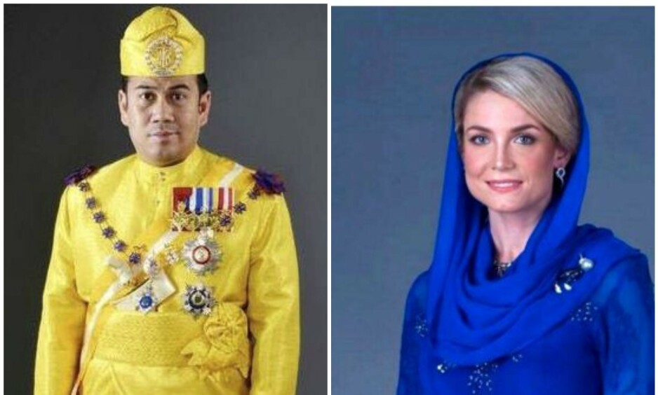 SA JA: Svenske Sofie Louise Johansson har ifølge Expressen giftet seg inn i det malaysiske kongehuset fredag. Foto: Kelantan Palace