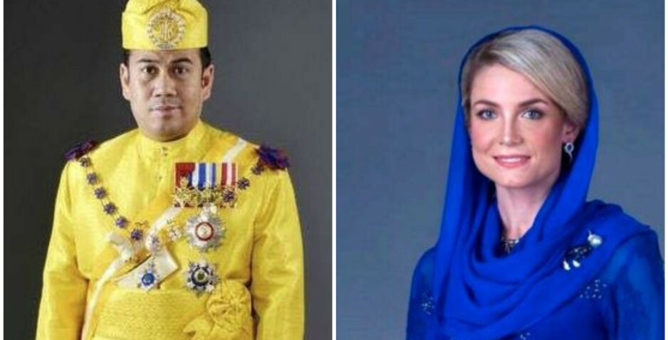<strong>HISTORISK BRYLLUP:</strong> Kronprins Tengku Muhammad Faiz Petra gifter seg med svenske Sofie Louise Johansson neste uke. Foto: Det kongelige hoff i Kelantan