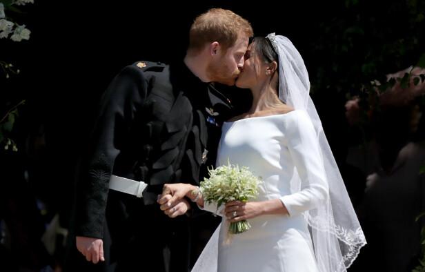 <strong>SPENNENDE ÅR:</strong> I mai er det ett år siden Harry og Meghan giftet seg foran hele verden. Om kort tid blir de foreldre for første gang. Foto: NTB Scanpix