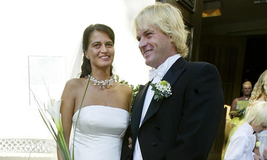 <strong>SKILLES:</strong> Morten Borg og Celine Maktabi går fra hverandre etter 15 års ekteskap. Foto: NTB scanpix