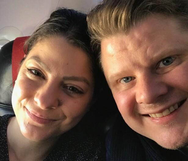 ØNSKER SEG BARN: Sara og Joakim legger ikke skjul på at de ser for seg å starte familie sammen. Foto: Privat