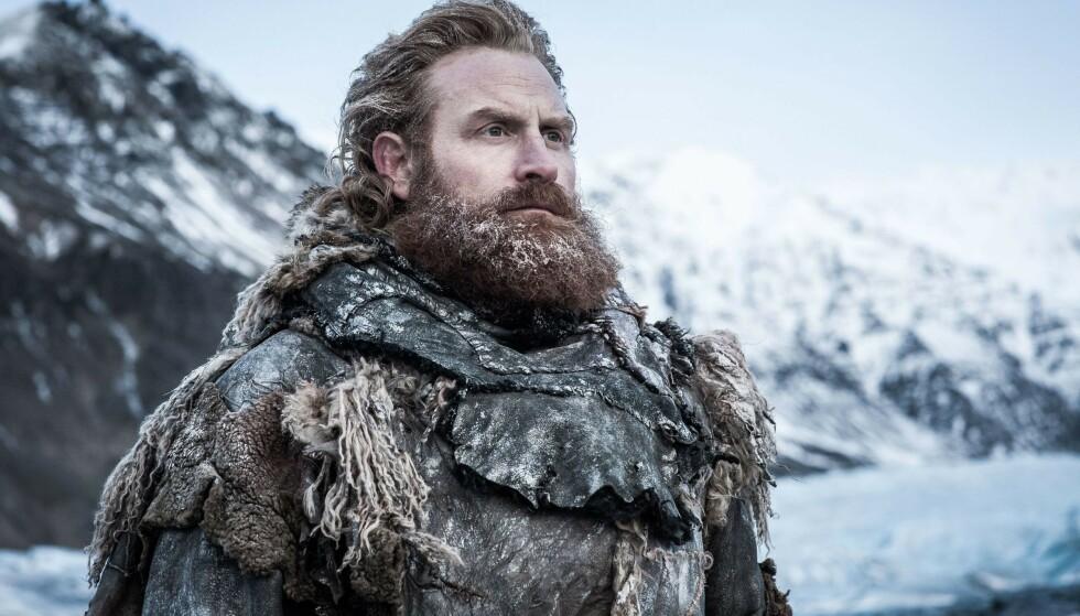 <strong>STOR ROLLE:</strong> Kristofer Hivju har fått mye å bryne seg på i rollen som Tormund Giantsbane. Foto: NTB Scanpix
