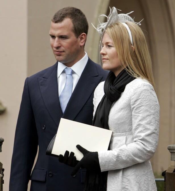 <strong>KONVERTERTE:</strong> Autumn Kelly måtte konvertere for å få gifte seg med Peter Phillips. Her er paret fotografert i 2008. Foto: NTB scanpix