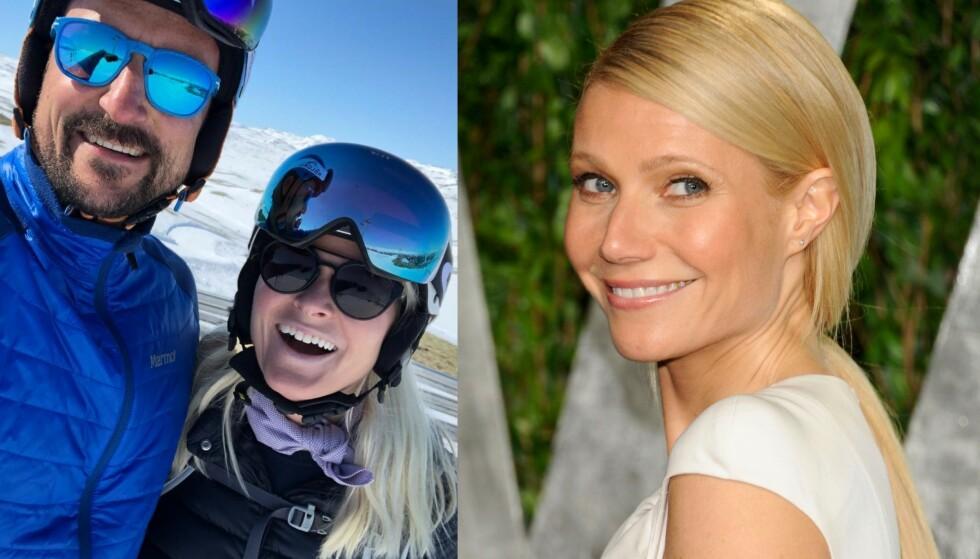 <strong>«UKJENT» VENNSKAP:</strong> Hollywood-stjernen Gwyneth Paltrow er en nær venn av kronprinsparet, noe vi fikk bevis på i kveld - da hun kom med en offentlig hilsen til paret. Foto: Instagram / NTB scanpix