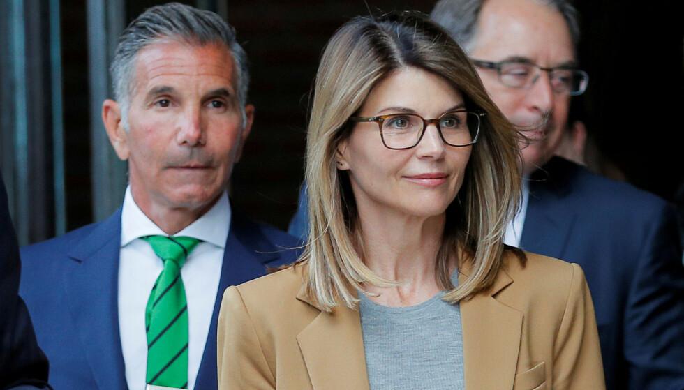 SIKTET: I over en måned har universitetsskandalen, som blant annet involverer «Full House»-stjernen Lori Loughlin og ektemannen Mossimo Giannulli, herjet Hollywood.