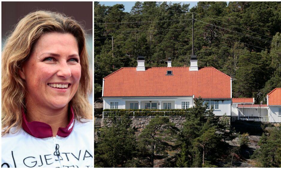 SELGES: Onsdag morgen ble det kjent at prinsesse Märtha Louise nå legger ut ferieparadiset Bloksberg for salg. Foto: NTB Scanpix